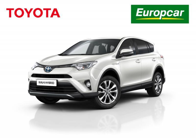 Toyota espa a entrega una flota de 100 rav4 hybrid a europcar - Oficinas europcar madrid ...